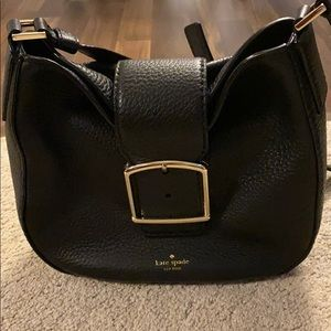 Kate Spade black leather purse. Never been used!